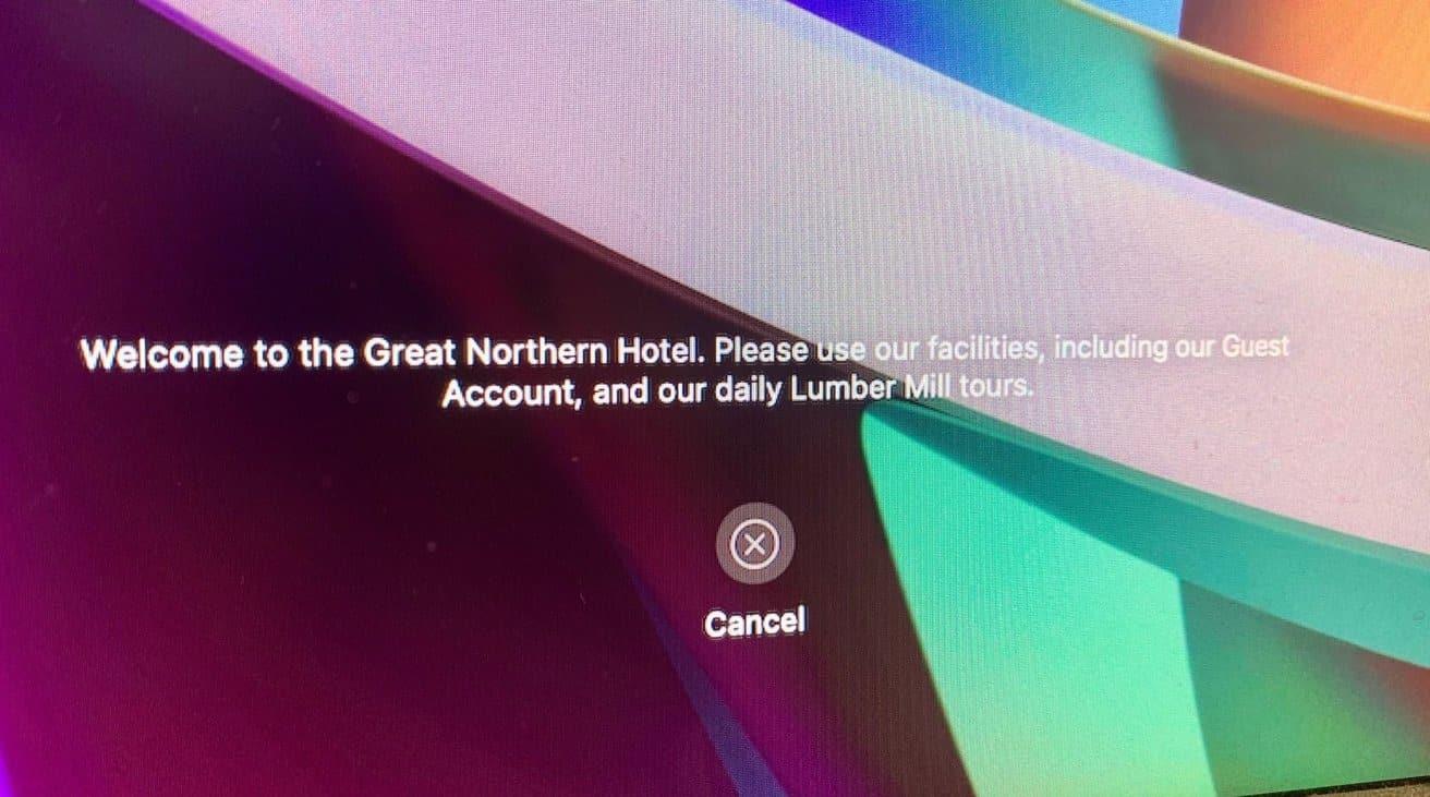 طريقة ترك رسالة في شاشة قفل ماك بوك