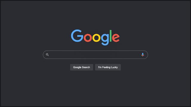 كيفية تمكين الوضع المظلم على بحث جوجل لسطح المكتب