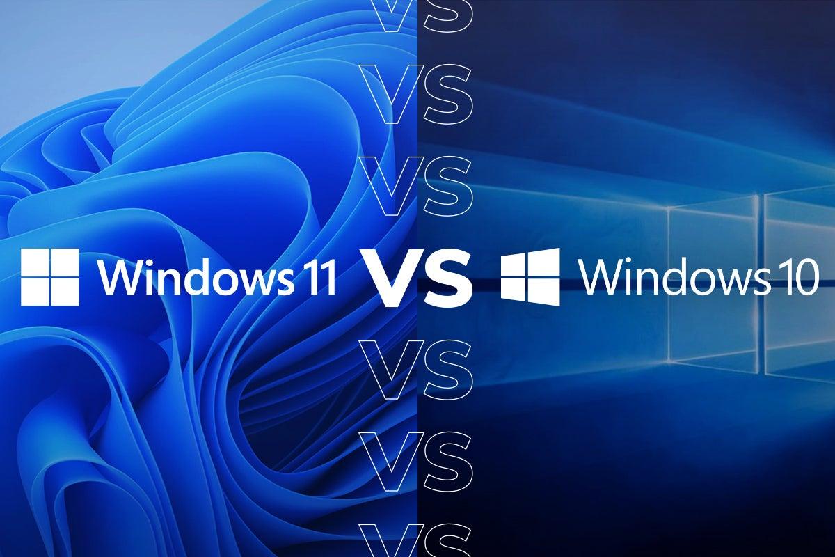أبرز الاختلافات بين ويندوز 11 و ويندوز 10