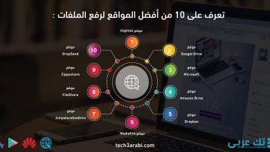 تعرف على 10 من أفضل المواقع لرفع الملفات