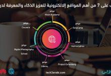 مواقع إلكترونية لتعزيز الذكاء والمعرفة لديك