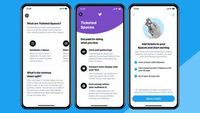 تويتر تطلق Ticketed Spaces لنظام أندرويد
